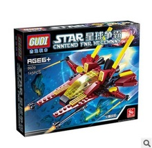 GUDI 8609 Star Wars Earth Border Bath Fire Front Minifigure Building Block 145Pcs Bricks Toys Compatible with Legoe