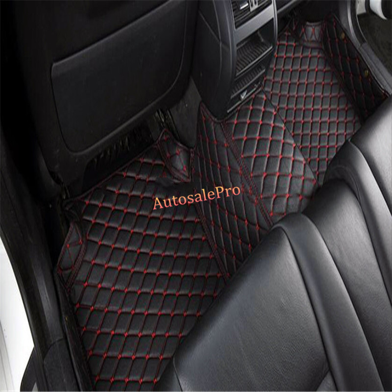 right & left hand drive For BMW 2 Series F45 Gran Active Tourer 5 seat 2015 2016 Waterproof Inner Carpet pad Car Foot floor Mats waterproof rubber hk right hand steering wheel car floor mats for volkswagengolf 5 6 scirocco with gti tsi r r golf logo