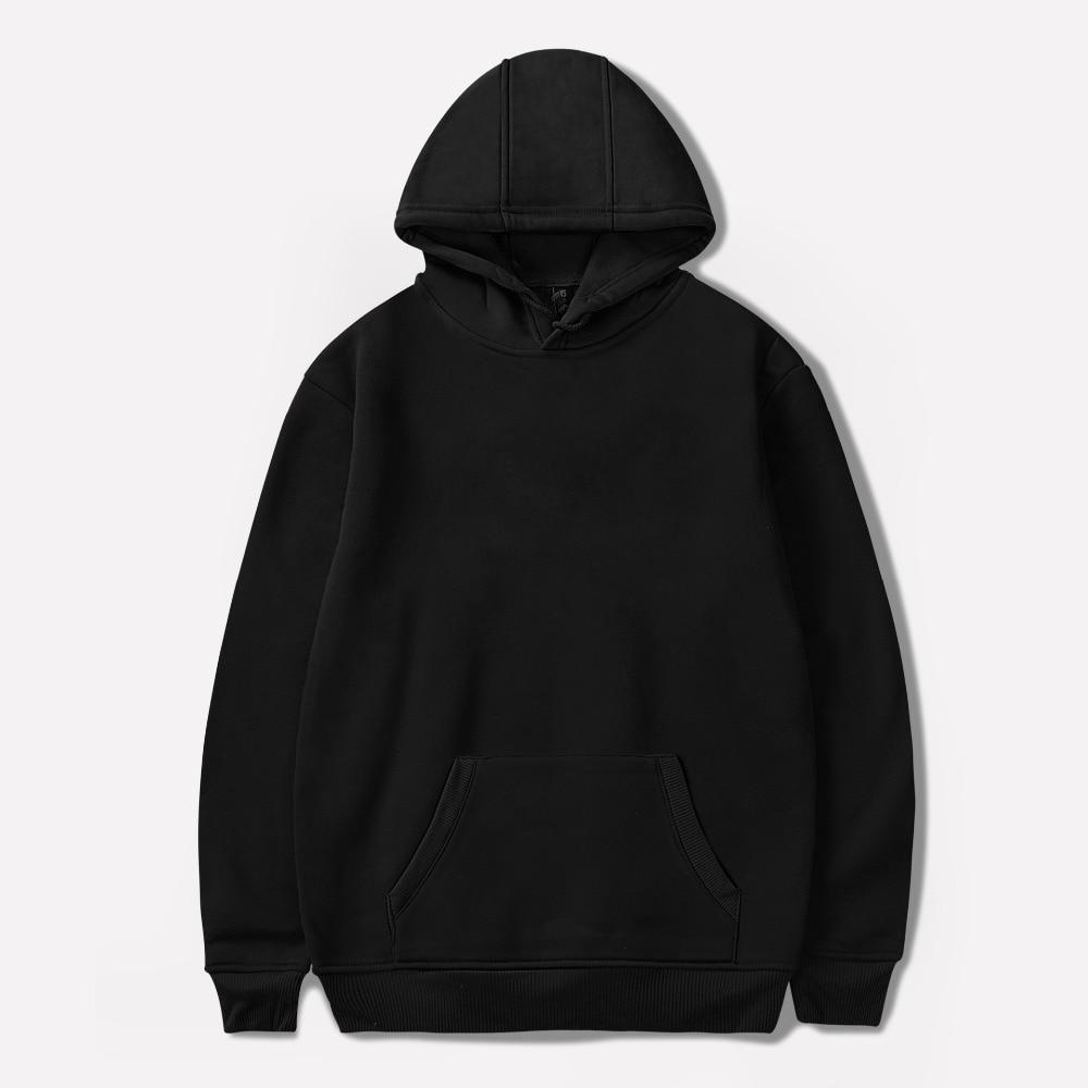 Russian Cheap hoodie Men Women boys sweatshirt Hooded Hoody solid  Sportswear pullover oversized black blank cotton 7a4082aa68dd