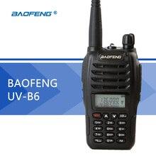 BaoFeng UV-B6 двухканальные рации Профессиональная двухполосная VHF и UHF беспроводной портативный CB радио
