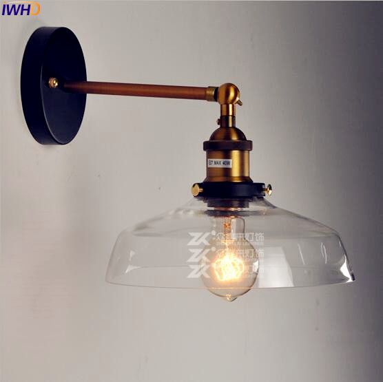 Lights & Lighting Led Indoor Wall Lamps Iwhd Edison Antique Vintage Wall Lamp Led Bedroom Stair Edison Loft Industrial Retro Wall Light Sconces Wandlampen Home Lighting Buy One Give One
