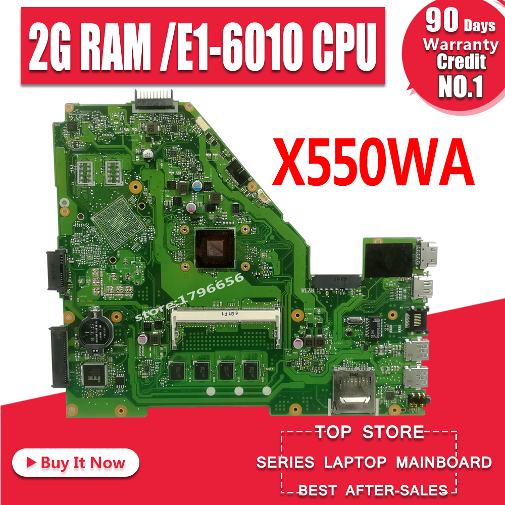 Drivers Asus X550WE (E1-6010)