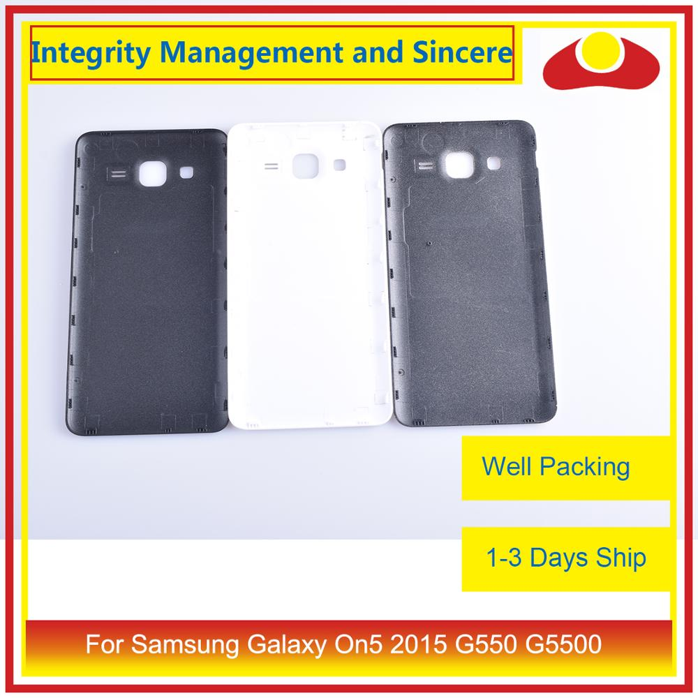 Image 3 - 10Pcs/lot For Samsung Galaxy On5 2015 G550 G550F SM G550FY Housing Battery Door Rear Back Cover Case Chassis Shell-in Mobile Phone Housings & Frames from Cellphones & Telecommunications
