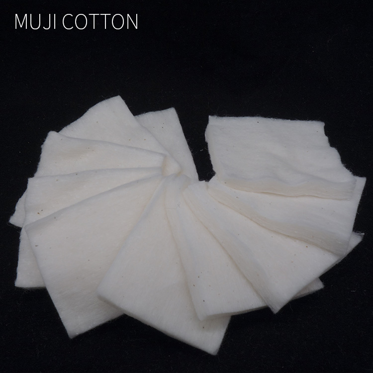 5pcs/lot Organic Vape Muji Cotton Japanese No Bleaching For Ecigarette Rebuildable RDA RBA RTA DIY Vape Tank Accessories
