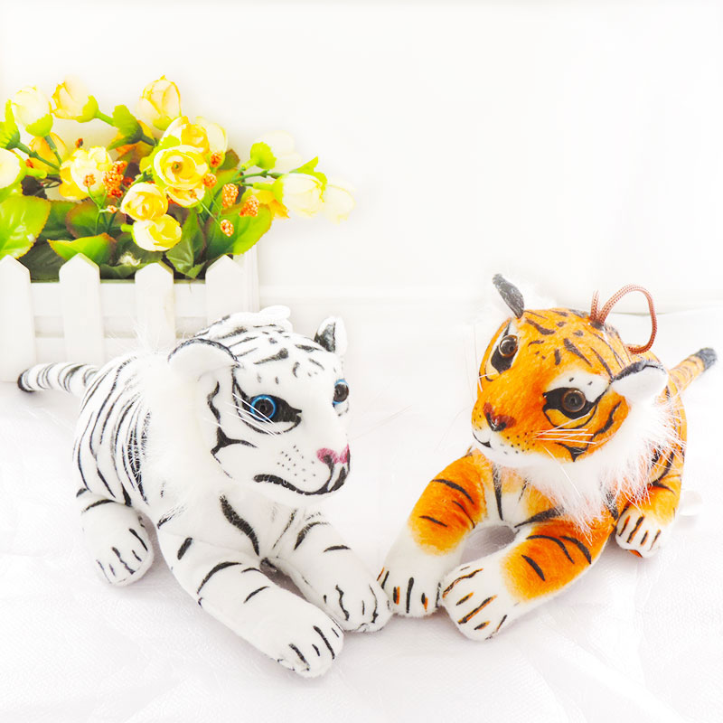 Small Cute Simulation Animals Stuffed BIGCATS Tigers Puma Plush Dolls Toys Panther Leopard Car Decor Toy Children Kids Gifts ty collection beanie boos kids plush toys big eyes slick brown fox lovely children gifts kawaii stuffed animals dolls cute toys
