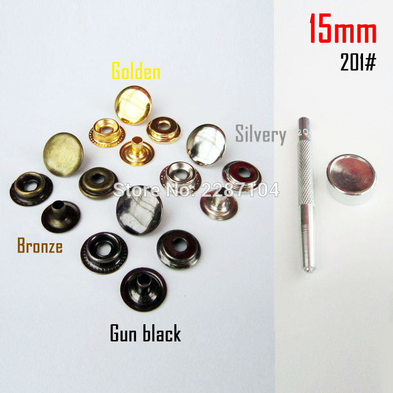 Buttons Buy Cheap 160pcs 12mm Metal Snap Buttons 4 Color Combination Kit With 4 Tools Snap Press Button Fasteners For Garments Clothing Jeans Coat