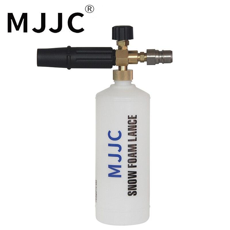 MJJC Marque avec 2018 Haute Qualité Mousse Lance pour PA libération rapide nettoyeur haute pression avec PA-libération rapide connecteur