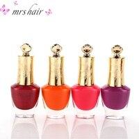 new candy nude color quick drying nail polish environmentally durable 18ML translucent jelly nail polish