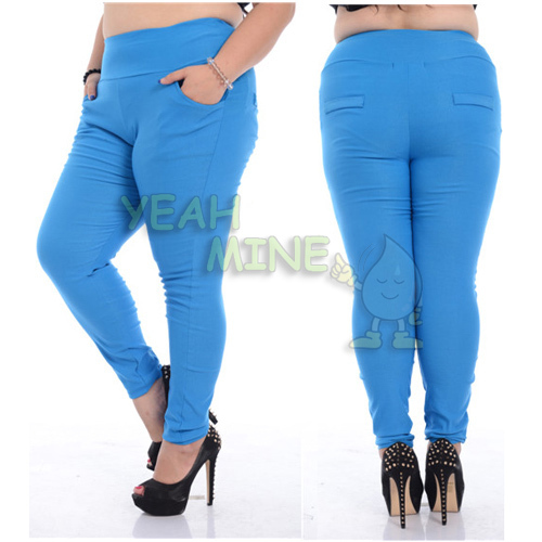 Aliexpress.com : Buy Women's Plus Size Multi color Leggings Pencil ...
