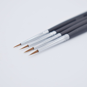 4pcs 0-00000 Clay Pottery BJD Doll Face Coloring Pen Ultrafine Draw Fine Line Brush Makeup Model Paint Nail Art clay Tools
