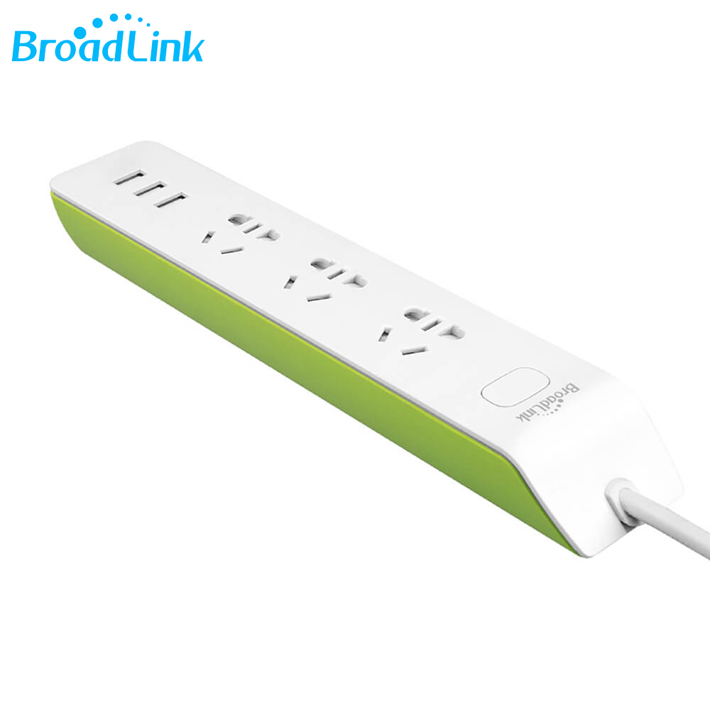 Broadlink 4 WAY SURGE PROTECTED POWER BOARD WiFi Timing 4 Outlet Power
