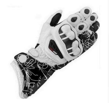 2018 New GP PRO Motorcycle Long Gloves Racing Driving GP PRO Motorbike Original Cowhide Gloves For Alpin