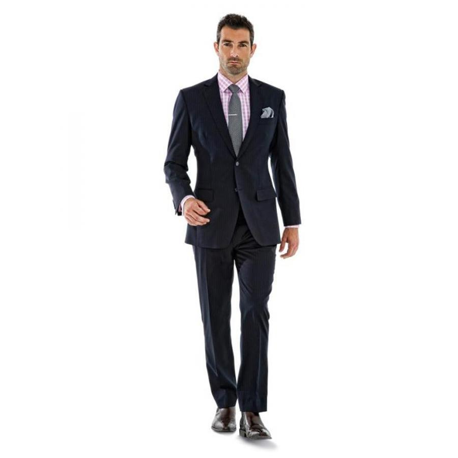 Slim Fit Peaked Lapel Tuxedos One Button 2 Piece Suit Jacketpants