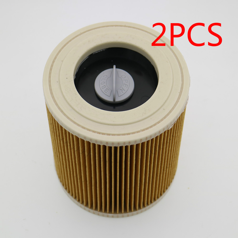 2Pcs/lot replacement air dust filters bags for Karcher Vacuum Cleaners parts Cartridge HEPA Filter WD2250 WD3200 MV2 MV3 WD2 WD3 10pcs replacement hepa dust filter for neato botvac 70e 75 80 85 d5 series robotic vacuum cleaners robot parts