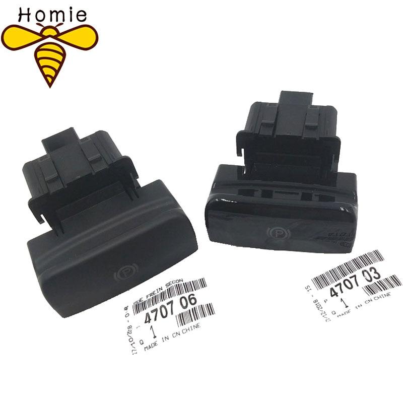 NEW Parking Brake Switch Electronic Handbrake Switch 470706 470703 For Peugeot 5008 308 3008 CC SW