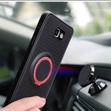 Car Magnetic Stand Case for OPPO F5 Finger Ring Cover for OPPO F 5 6.0″ Phone Cases