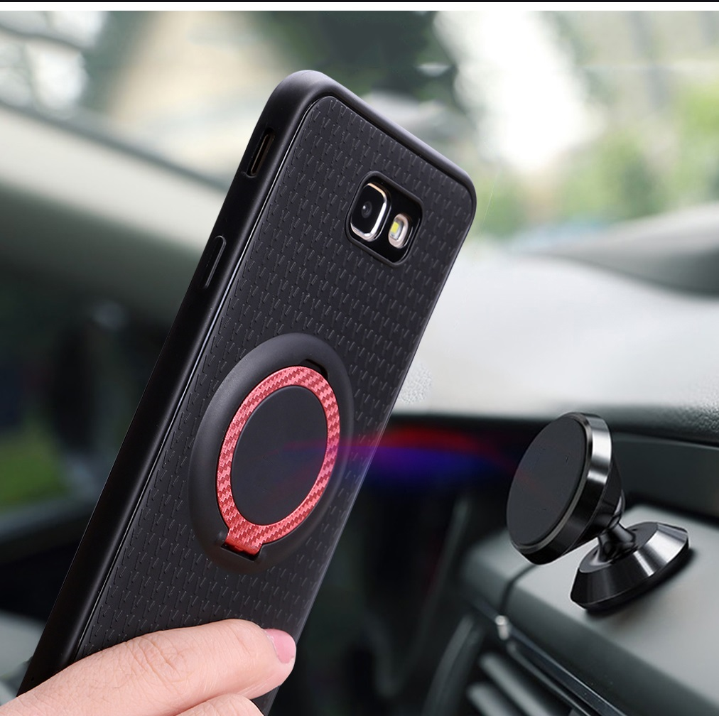 Car Magnetic Stand Case for OPPO F5 Finger Ring Cover for OPPO F 5 6.0