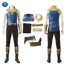 MANLUYUNXIAO Avengers Endgame Thanos Cosplay Costumes demon Thanos Costumes For Jumpsuits Adult Halloween Party Tight Bodysuit avengers vs thanos