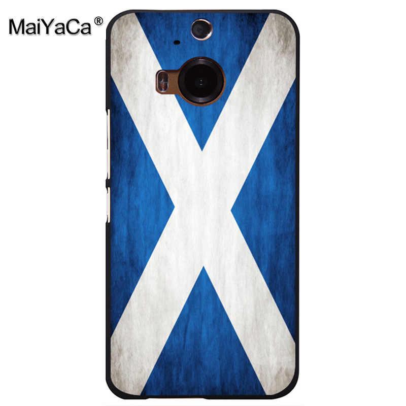 MaiYaCa flag of uk USA Venezuela ethiopia bosnia uruguay iran syria  Scotland Phone case cover for htc M8 M9 M7 X9 A9 case