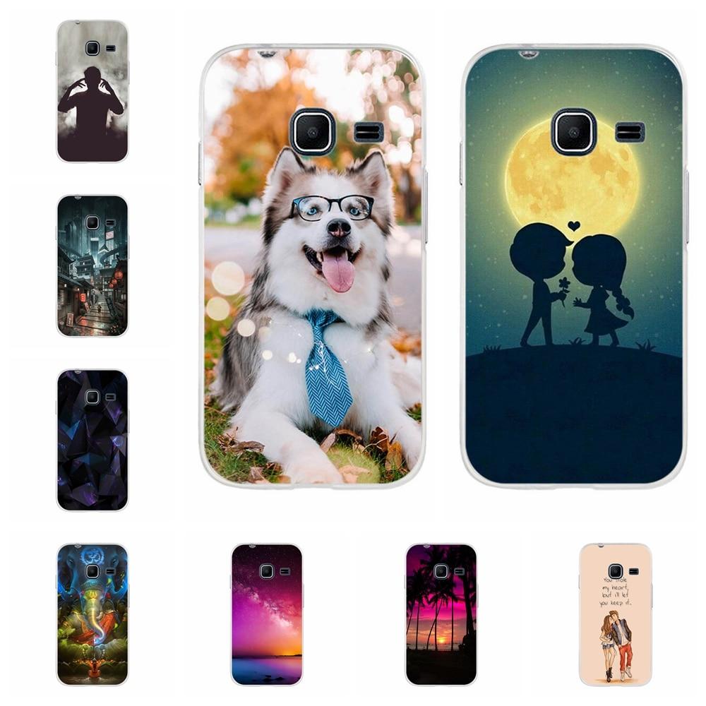For Samsung Galaxy J1 Nxt Cover TPU mini 2016 J105 J105H Case Ocean Pattern Duos Funda