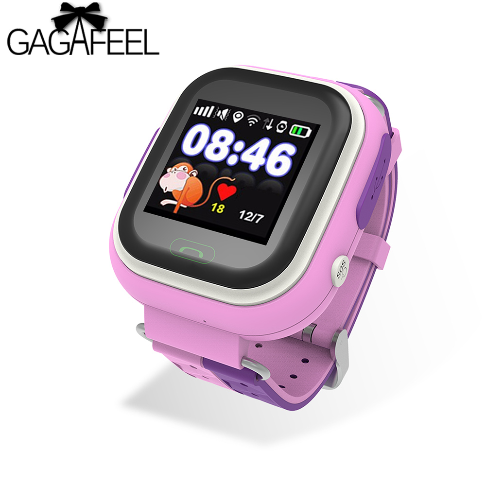 GAGAFEEL Fashion GPS Tracker Smart Watches for Children SOS Call Location Finder Locator Tracker for Kids