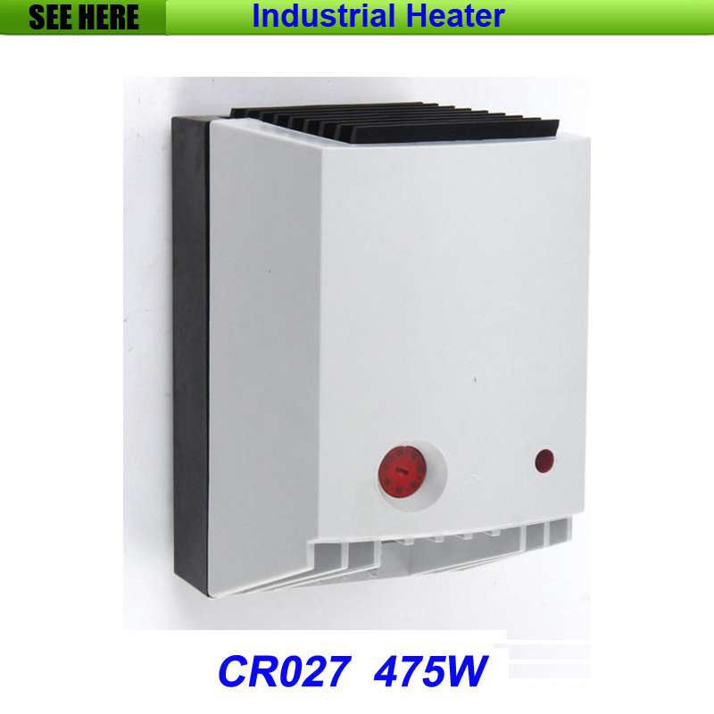 High Quality Small Compact Semiconductor Fan Heater With Optical indicator 475W CR027 high quality industrial used small power heater use in areas with explosion hazard 150w explosion proof heater
