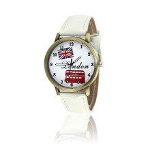 Fashion Women Casual Vintage Leather Girls Kids Wristwatches Brand Quartz Watches