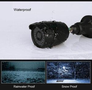 Image 4 - Techage sistema de vigilância externa, câmera de vigilância externa 8ch 1080p hdmi ahd dvr cctv, 2mp, hd, ir, visão noturna conjunto de 2tb hdd