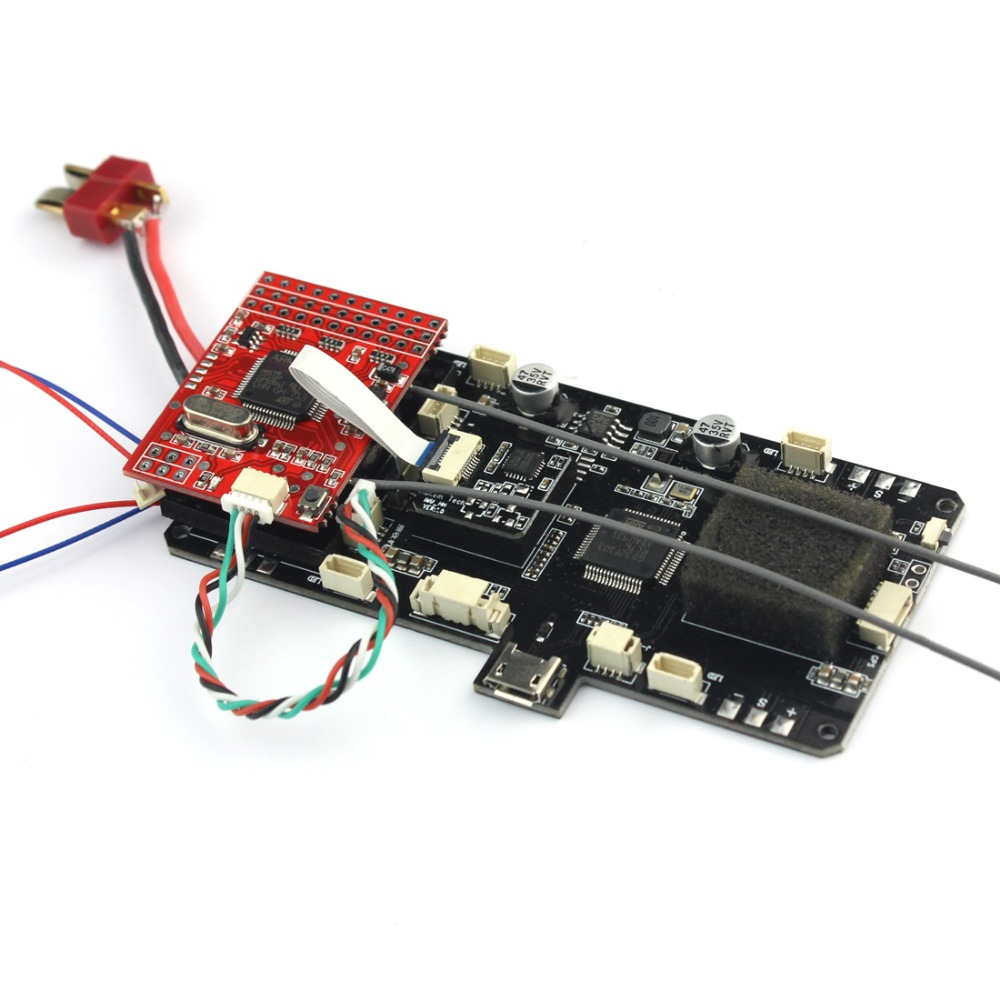RC Quadcopter Spare Parts FC Flight Controller with Power Board For AOSENMA CG035 RC Toys Models aosenma cg035 rc quadcopter spare parts gps board transmitter board