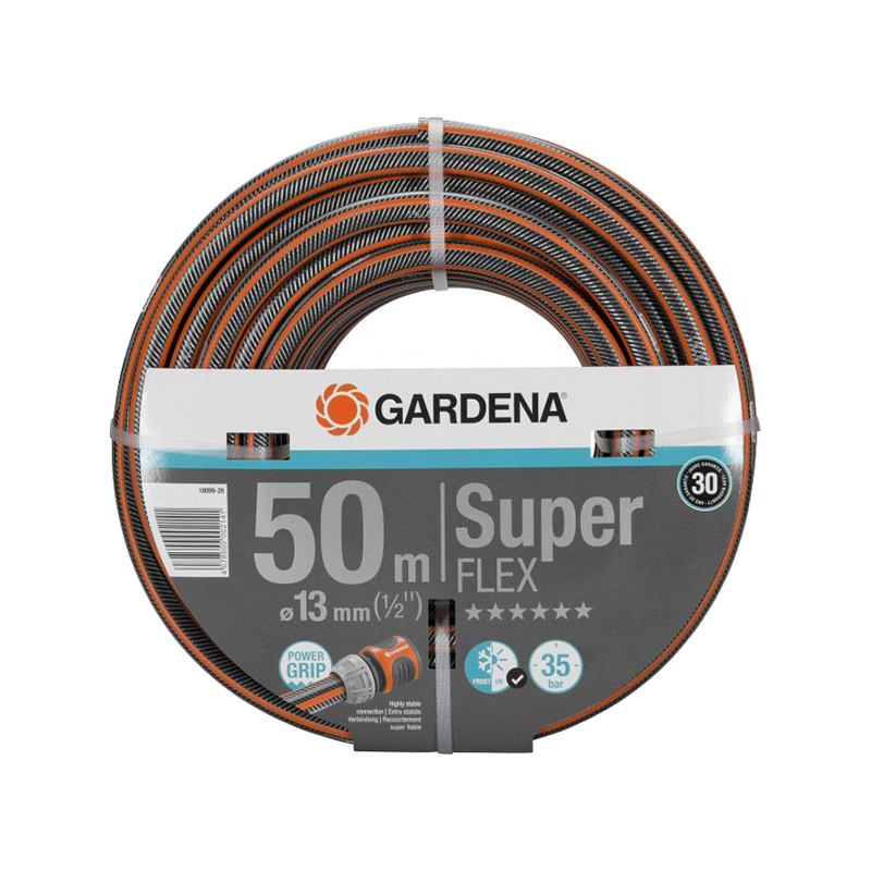 Hose GARDENA SuperFLEX 13 mm Home & Garden Garden Supplies Watering & Irrigation Garden Hoses & Reels 20m 3 5mm micro irrigation pipe water hose drip watering home garden greenhouse