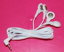 Electric Shock Sex Toy Accessories Wires 4 Head Cable For Electro Shock Penis Ring Massage Patch