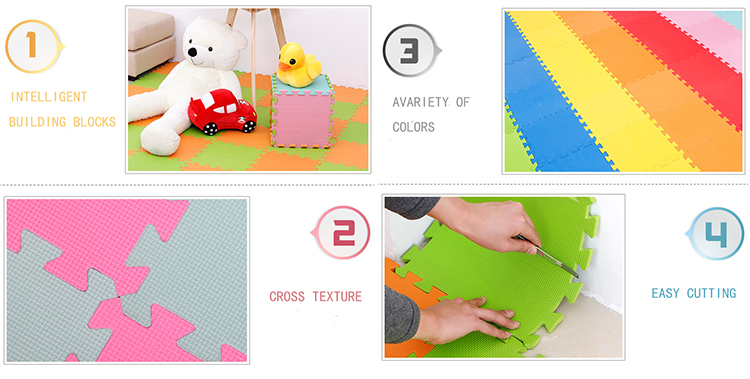 Toucan Style Baby EVA Foam Puzzle Mat 30x30x1cm 5
