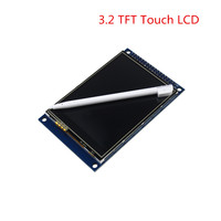 LCD 3 2 Inch TFT Touch Screen Module Display Ultra HD 320 240 ILI9341 Compatible Punctuality