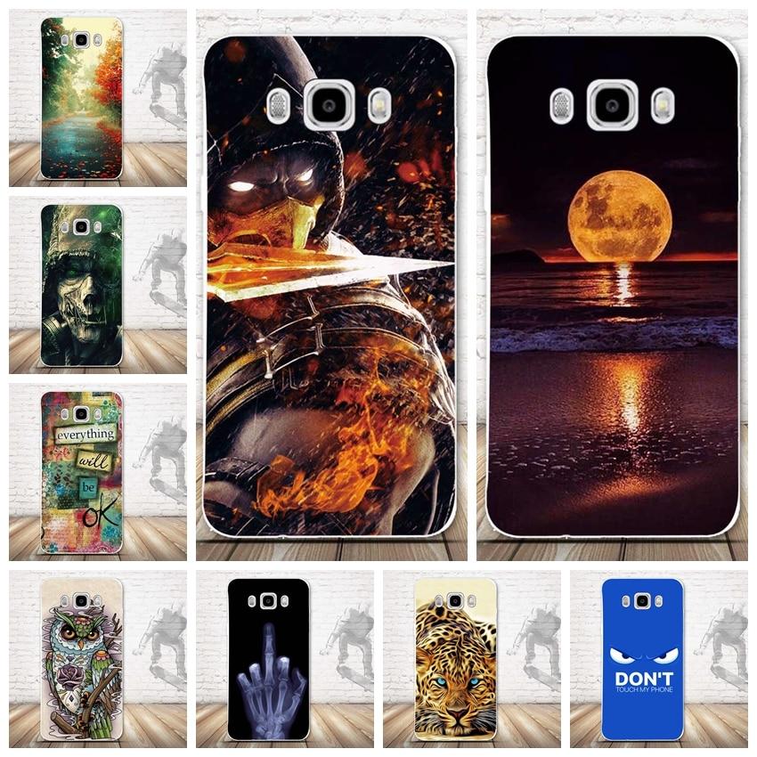 3D-tryckfodral för Samsung Galaxy J7 2016 Soft TPU Cover Coque för - Reservdelar och tillbehör för mobiltelefoner - Foto 1