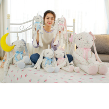 40/50/75/100 Cm Soft Rabbit Plush Toy Stuffed Cute Doll For Baby Sleeping Bed Fashion Lovely Birthday Gift Kids