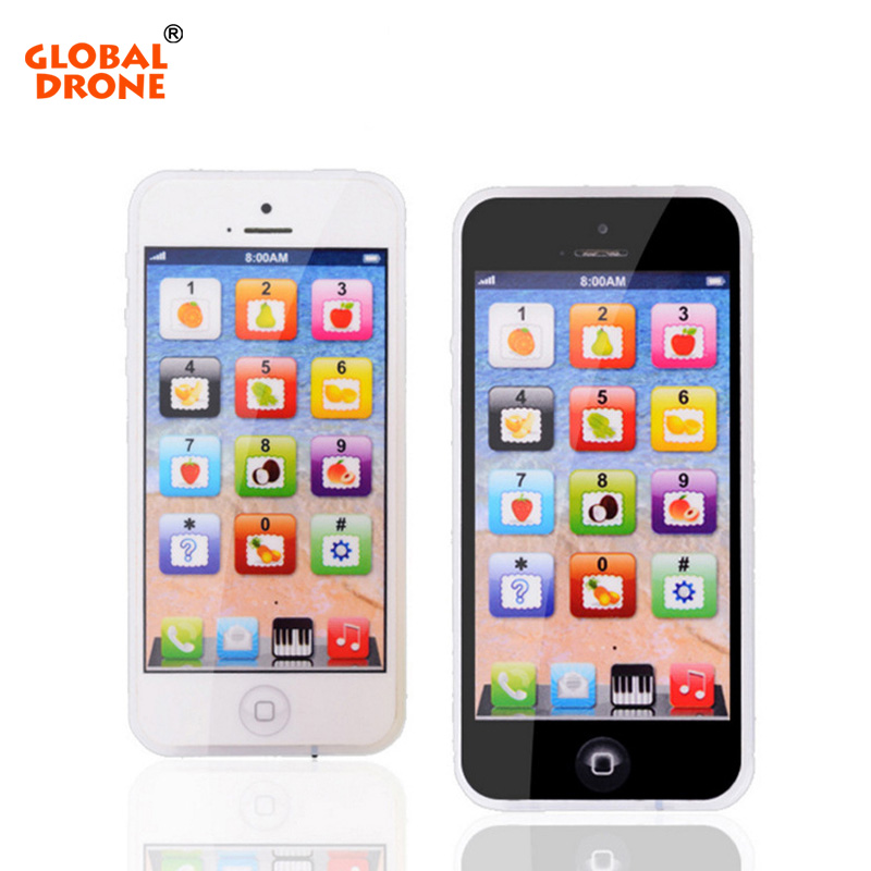 Global Drone Phone English Touch Screen Learning Computer Mini Y phone Toy Children Fun learning computer educational toy