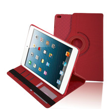 Lightweight 360 Degree Rotation PU Leather Tablet Cover Case Shockproof Tablet Full Protective Cover Suitable For Ipad mini 4