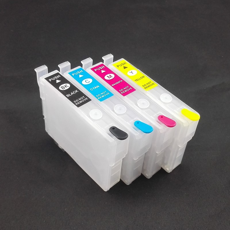INK WAY T220XL Refillable ink cartridge with ARC chips for Workforce WF 2630 WF 2650 WF 2660 etc.,Australian Printer T2941-T2944 new t5971 t5974 t5978 empty refillable ink cartridge for epson stylus 7700 9700 7710 9710 with arc chips with one resetter