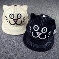 10 шт. 2015A-562 киска cat уши вышивка прекрасный хип-хоп кепка мужчины женщины лежа краев снэпбэк бейсбол шляпа