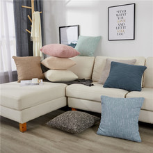 Elegant Solid Pillow Case Square Best Soft Throw Pillow Cover Home Sofa Seat Bed Decorative High Quality Cushion Cover Available цена в Москве и Питере