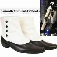 Rare MJ Michael Jackson SMOOTH CRIMINAL 45 Degrees Magic Amazing Unimaginable Leaning Shoes Boots Show Moonwalk