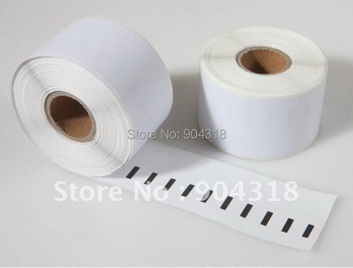 10 x Rolls Dymo 99018, 100% Compatible, label size: 38x190mm, 110 labels per roll, Seiko Compatible labels, high quality