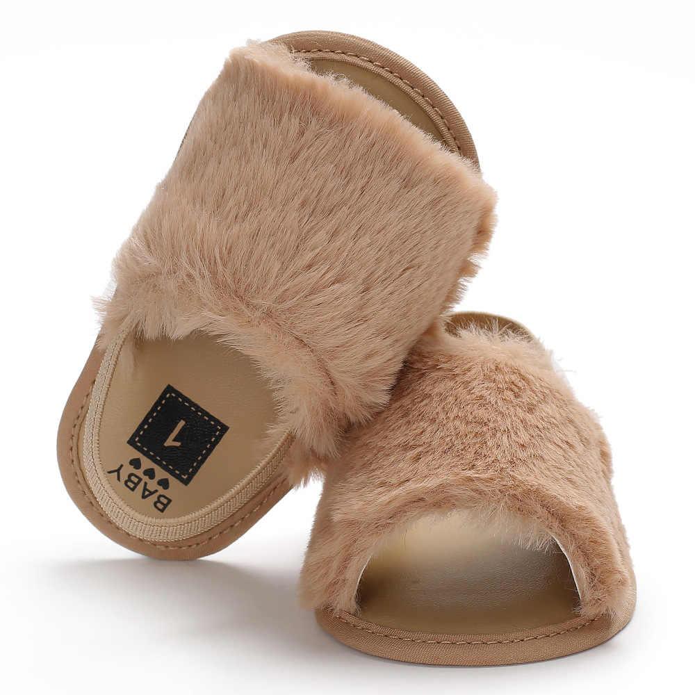 8b9297ea2 ... 2019 de piel sintética Rosa verano bebé niños niñas sandalias de bebé  lindo bebé Zapatos de ...
