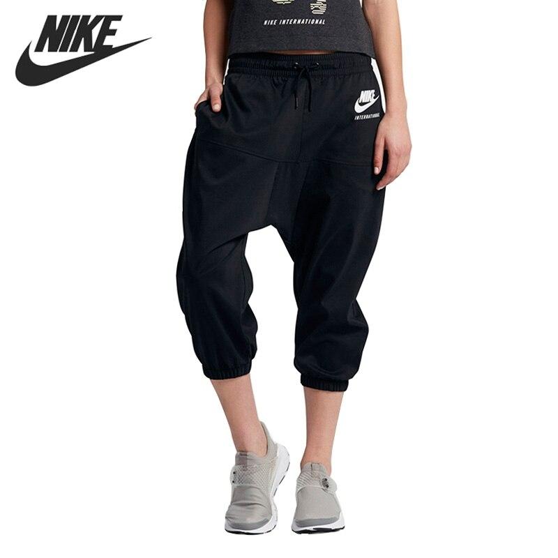 Original New Arrival 2017 NIKE AS W NK INTL CPRI 3/4 PT Women's Shorts Sportswear