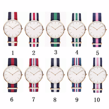 NEW 18mm 20mm Army Sports nato fabric Nylon watchband Buckle belt For Daniel Wellington Band For 007 James bond DW Watch Strap(China)