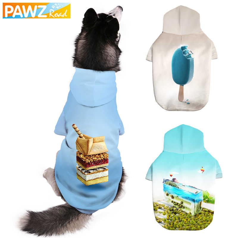 Фото Собака 3D толстовки Теплые кофты для домашних собак кошек костюм Косплэй эскимо