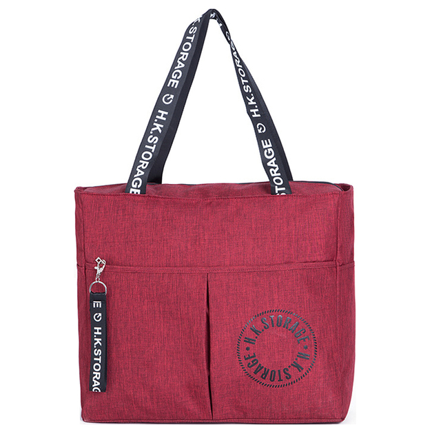 3a44398a21fd US $15.82 50% OFF Waterproof Big Travel Bag Foldable Women Duffle Bag  Travel Organizer Overnigh Bags Portable Shoulder Weekend Bags Business  Tote-in ...