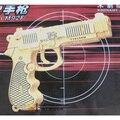 Деревянный пистолет модель 3 d головоломки ручной работы собраны деревянные головоломки игрушки