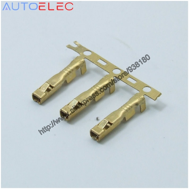 100pcs dj622 e2 3*0 6 terminal connectors copper terminal for100pcs dj622 e2 3*0 6 terminal connectors copper terminal for electric bicycle car wiring harness amp tyco molex