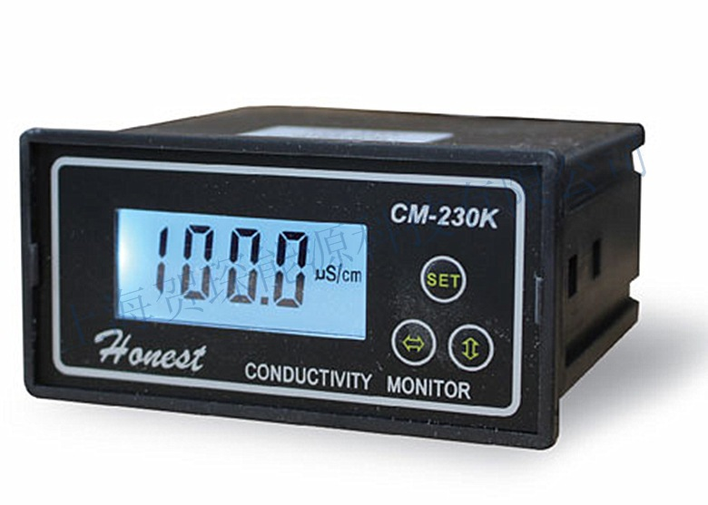 CM-230K Online Conductivity Monitor Tester Meter Analyzer Contact Relay NC 0-2000us/cm Error 2%FS ATC Alarm Output цена